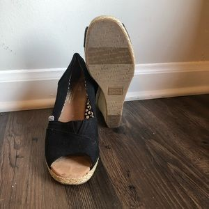 Toms Shoes - Tom's espadrille wedges